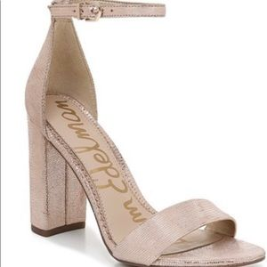 Sam Edelman chunky heels